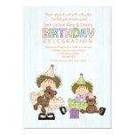 Birthday Sisters Cuties Birthday Party Invitation