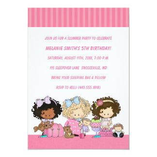 Birthday & Slumber Party Invitations