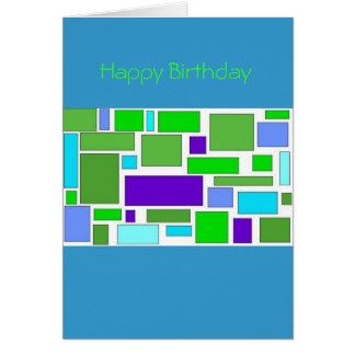 Birthday Squares Card