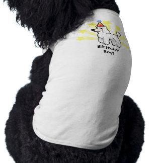 Birthday Standard/Miniature/Toy Poodle (puppy cut) Dog Tshirt