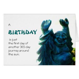 Birthday Statue Card