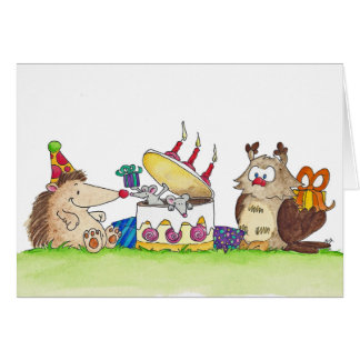 BIRTHDAY SURPRISE greeting card by Nicole Janes