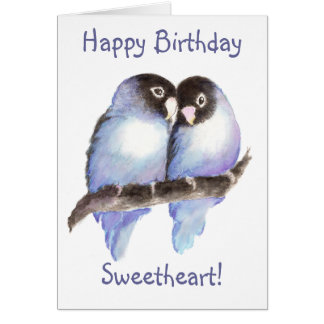 Birthday, Sweetheart! Card