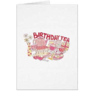 Birthday Tea Card