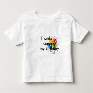 Birthday Thanks Toddler T-shirt