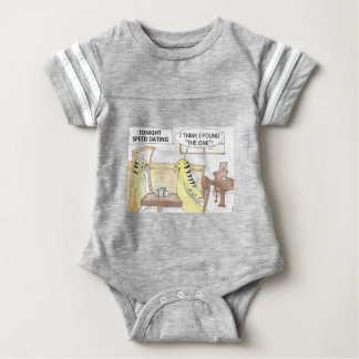 Birthday, the parakeet  way baby bodysuit