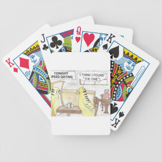 Birthday, the parakeet  way bicycle playing cards