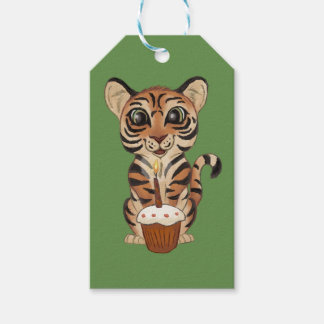 Birthday Tiger Pack Of Gift Tags