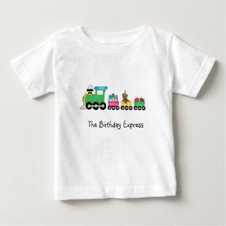 Birthday Train Baby T-Shirt