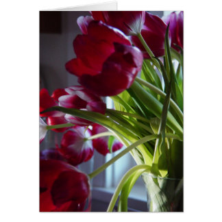 Birthday Tulips Card