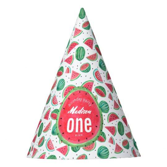 Birthday | Watermelon | Party hat