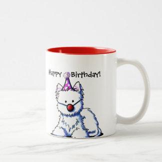 Birthday Westie Mug