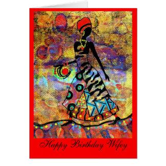 Birthday Wife Card