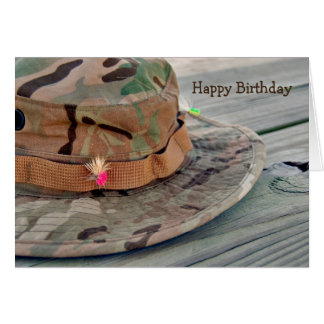 Birthday Wish for Fisherman Card