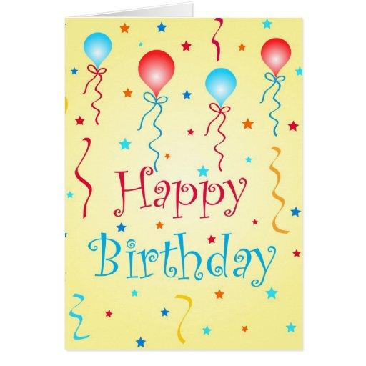 Birthday wishes - Card