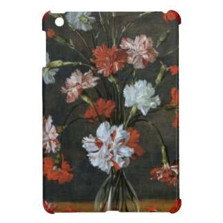 Birthday Wishes - Carnations With Oval Mount iPad Mini Cases