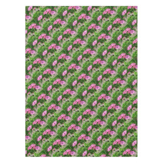 Birthday Wishes Pink Daisies Tablecloth