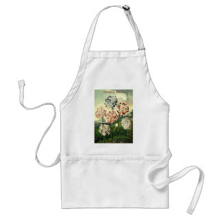 Birthday Wishes - Striped Carnation Standard Apron