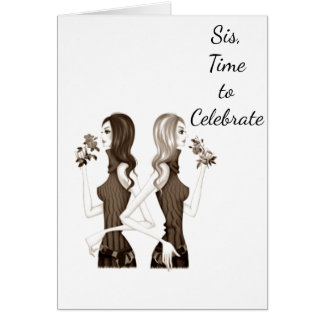 BIRTHDAY WISHES TO MY ***SISTER*** CARD