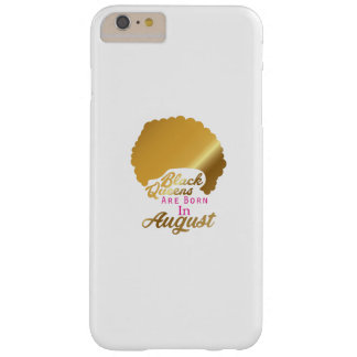 Birthday Women's Black Queens Are Born September Barely There iPhone 6 Plus Case