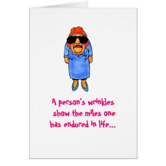 Birthday Wrinkles Card