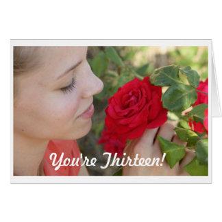 Birthday - You're Thirteen! Card