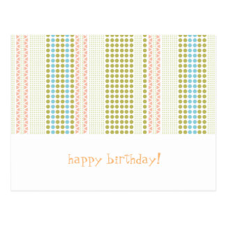 birthdaycard postcard