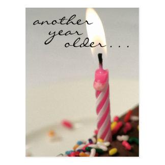 Birthdays blow! postcard