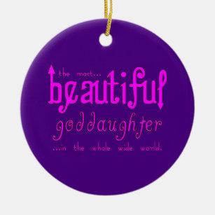 Goddaughter Ornaments & Christmas Ornaments | Zazzle CA