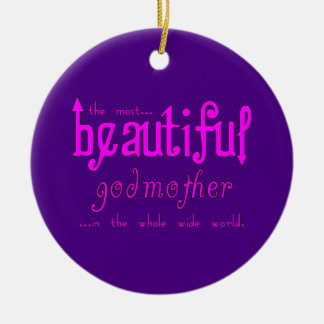Birthdays Christmas Parties Beautiful Godmother Ornaments