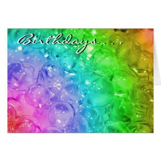 Birthdays . . .  greeting card