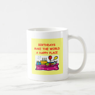 birthdays coffee mug