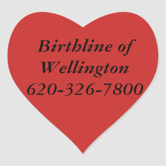 Birthline of Wellington Stickers