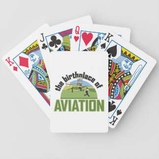 Birthplace of Aviation Bicycle Playing Cards