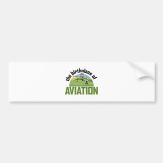 Birthplace of Aviation Bumper Sticker