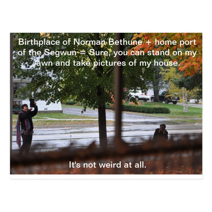 Birthplace of Norman Bethune Postcard
