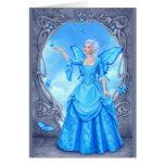 Birthstones - Blue Topaz Fairy Greeting Cards