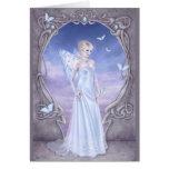 Birthstones - Diamond Fairy Greeting Cards