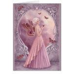 Birthstones - Pearl Fairy Greeting Card