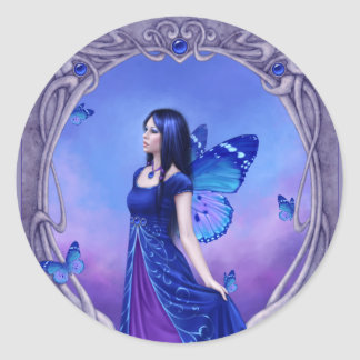 Birthstones - Sapphire Fairy Sticker