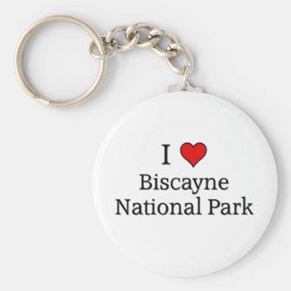 Biscayne national park keychain