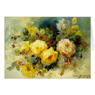Bischoff - Roses (yellow) Card