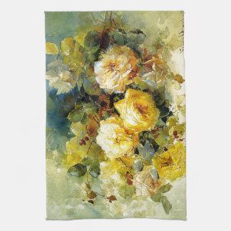 Bischoff - Roses (yellow) Kitchen Towel
