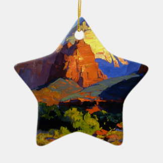 Bischoff - Zion Park Ceramic Ornament