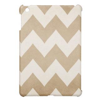 Biscotti & Vanilla Chevron Ipad Mini Case