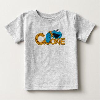 Biscuit du monstre   de biscuit ! t-shirt pour bébé