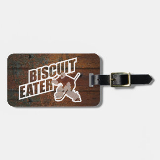 Biscuit Eater (Hockey Goalie) Luggage Tag