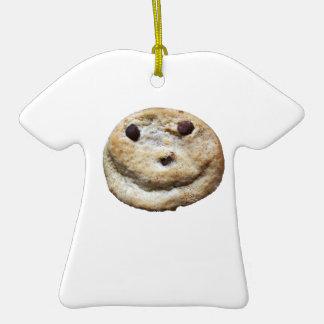 Biscuit heureux ornement de noël