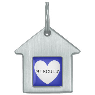 ❤️   BISCUIT pet tag by DAL