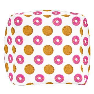 Biscuit Polka Dots Pattern Pouf